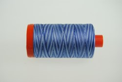 Aurifil #4655 - Mako 50 wt  Thread - Varrigated Blues