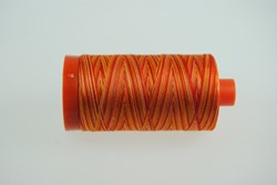 Aurifil #4657  - Mako 50 wt  Variegated Thread - Sunset