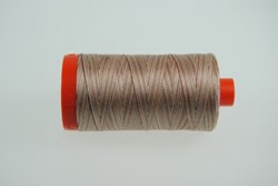 Aurifil #4666  - Mako 50 wt  Variegated Thread -Sand