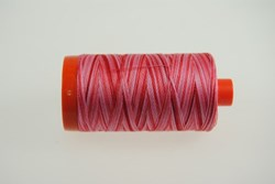 Aurifil #4668 - Mako 50 wt  Thread - Varigated Reds & Pinks