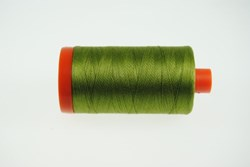 Aurifil #5016 - Mako 50 wt  Thread -  Pea Green