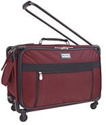 "Burgundy  - Tutto ""Sewing Machine on Wheels"" Carrier"