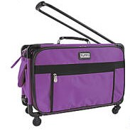 "Purple - Tutto ""Sewing Machine on Wheels"" Carrier"