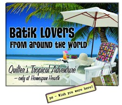 Batik Quilt Lovers Mystery Adventure