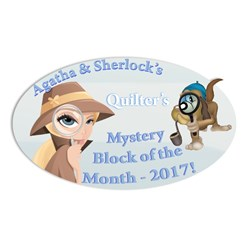 Agatha & Sherlock's Mystery 2017 Block of the Month!