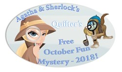 Agatha & Sherlocks Free October Fun 2018 Mystery