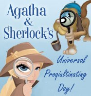 Agatha & Sherlocks Universal ProQuiltinating Day Mystery 2015