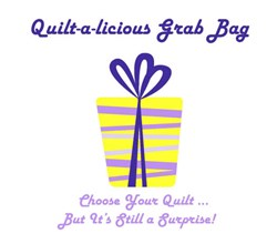 Quilt-a-licious Grab Bag!  <br> Spring Delight Wall hanging Quilt