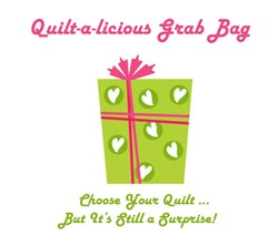 Quilt-a-licious Grab Bag!  <br>Dressed to the Nines  Wall Hanging Quilt
