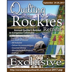 2017 Quilting in the Rockies Retreat