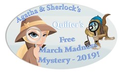 Agatha & Sherlocks Free 2019 March Madness Four Corners Mystery