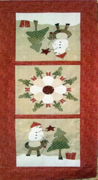 Around The Christmas Tree Table Runner Pattern By Fig N Berry