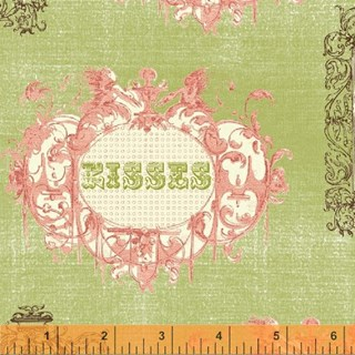 Love & Kisses Fat Quarter by Windham Fabrics  Fat Quarter
