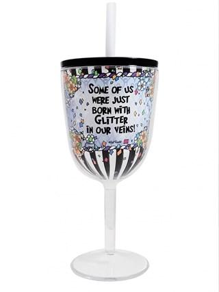 Sparkle Tingle Wine Glass