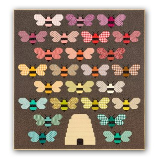 Bee Hive -- New Quilt Kit by Elizabeth Hartman!