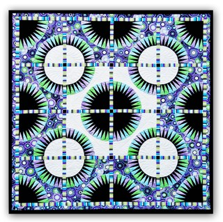 Black Beauty Paper Foundation Quilt 2 Star By