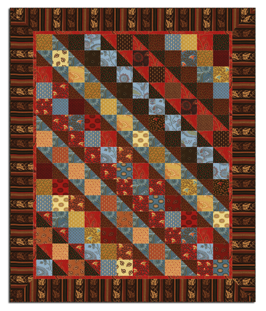 Civil War Reunion Quilt Kit Plus Bonus Table Runner Kit By