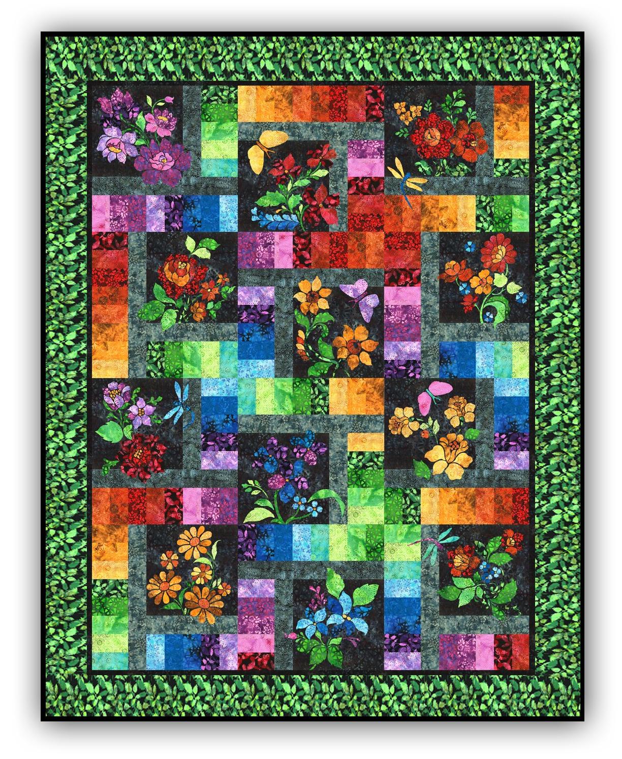 New! Floragraphix Batik