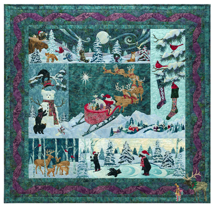 NEW Heaven & Nature Sing Batik Quilt Kit BOM By McKenna