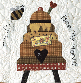 Last One Honey Bee Lane Complete Quilt By The Quilt Company
