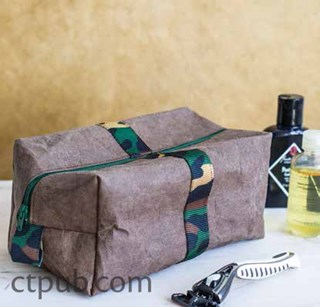 Free Dopp Kit Pattern from CT Pub
