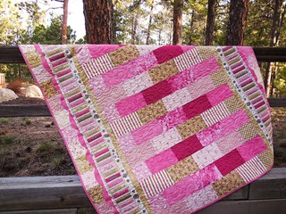 Mother's Day Garden Lap Sized Quilt Kit
