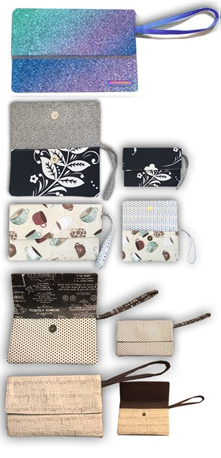 Large Cell Phone/Wallet Clutch Pattern Download