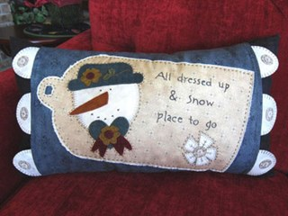 Sample - January Pillow