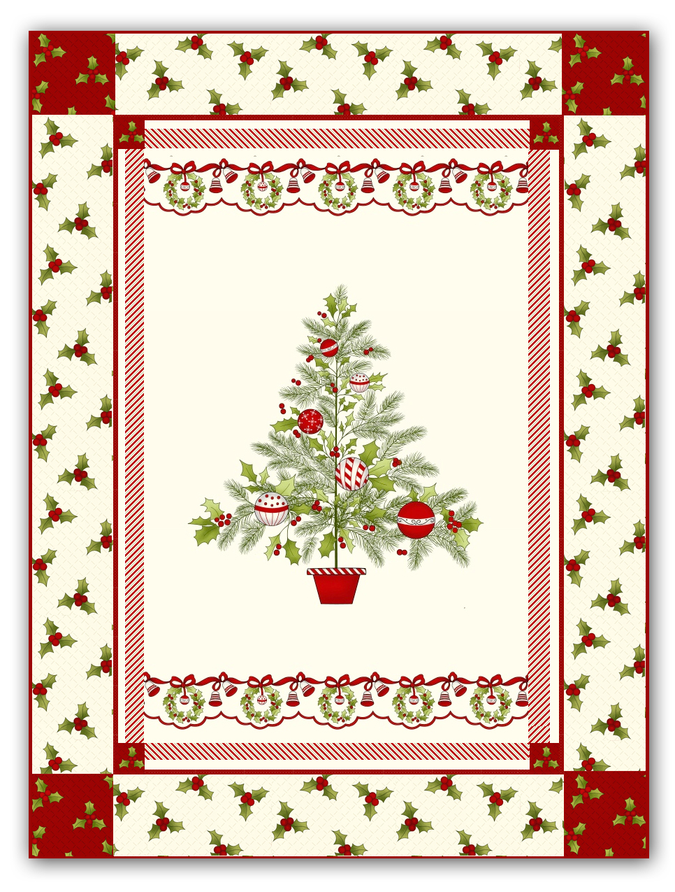 Christmas Quilt Patterns.Ring In Christmas Quilt Pattern Download With Optional Kit Optional Christmas Bling Pack By Mary Jane Carey