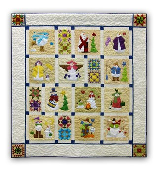 Shivery Snowmen Block of the Month or All at Once Quilt Kit  - Begin Anytime!