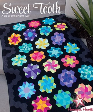 Sweet Tooth Twin Sized Quilt Block of the Month or All at Once