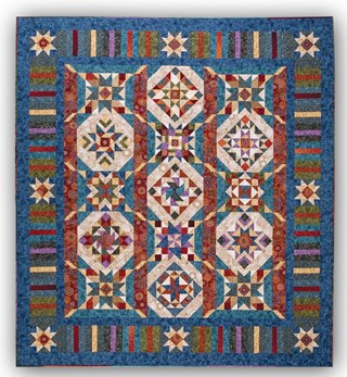 New!   Tapestry Quilt Kit by Wing and a Prayer Designs