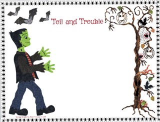 Toil & Trouble Label Gift From Me!