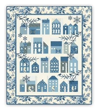 Winter Village Optional Coordinating Light Blue Outer