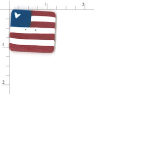 Extra Large Square Flag by  Just Another Button Company