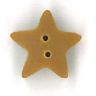 Small Tarnished Glold Star by  Just Another Button Company