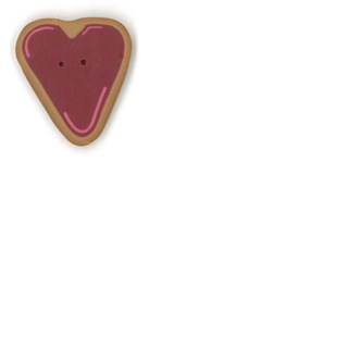 Medium Heart Cookie  by  Just Another Button Company