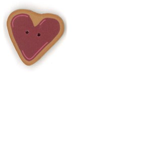 Small Heart Cookie  by  Just Another Button Company