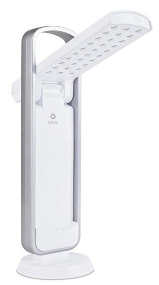 Last One!  OttLite 290009 LED Task Lamp in White