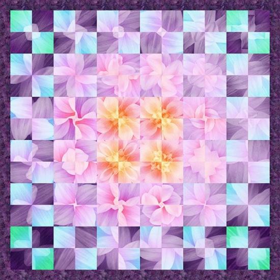 Free Pattern- Believe in the Beauty of Your Dreams- Purple