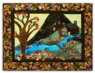 Pin It Up Wall Hanging Series November - Wind's Decor