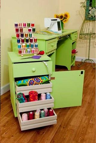 Suzi Storage Sidekick Cabinet by Arrow - Pistachio