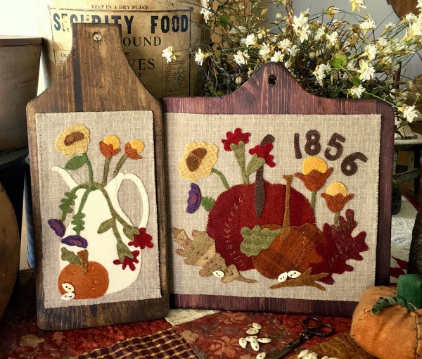 Wool Applique by 1894 Cottonwood House