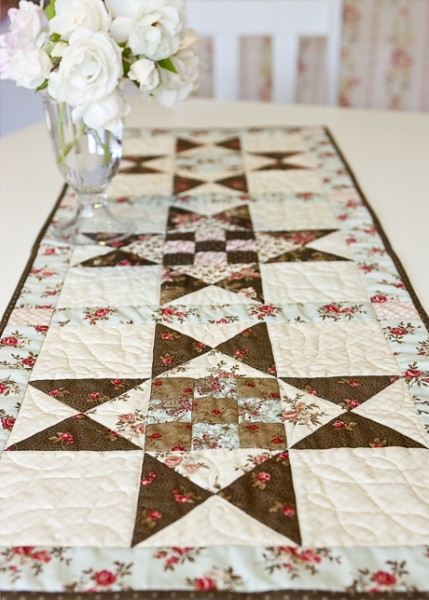 Madison Runner By Anne Sutton Of Bunny Hill Designs By