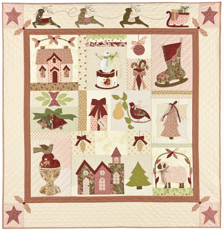 A Vintage Christmas By Anne Sutton Of Bunny Hill Designs