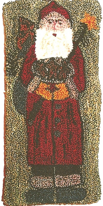 St Nicholas Punch Needle Pattern By Kindred Spirits By