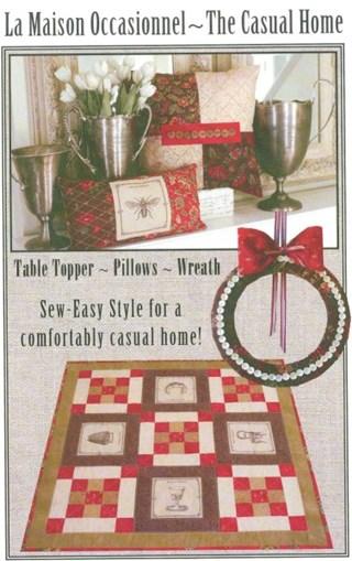 La Maison Occasionnel - The Casual Home Pattern
