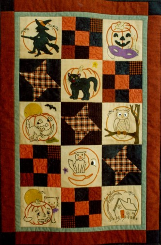 Ol Halloween Stitch Quilt Pattern Set By Buttermilk Basin