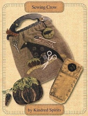 Vintage Sewing Crow Bag Pattern Booklet By Kindred