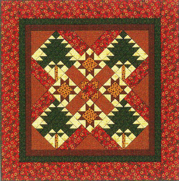 Vintage Find Lakeland Pines Quilt Pattern